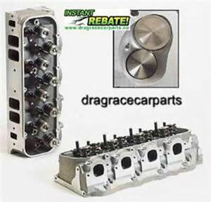 Dart Pro 1 Aluminum Cylinder Heads Bbc 1 Pair 19300136 Free Shipping