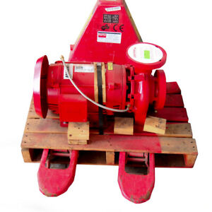 Armstrong 3x2 5x6 4280 15hp End Suction Pump Base Mounted Split Coupled