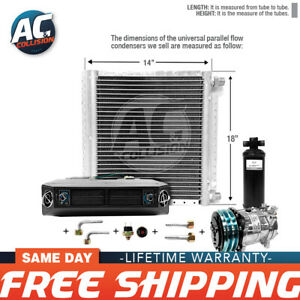 Ac Kit Universal Evaporator Underdash Unit Compressor And Condenser 18 X 14