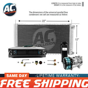 Ac Kit Universal Evaporator Underdash Unit Compressor And Condenser 12 X 22