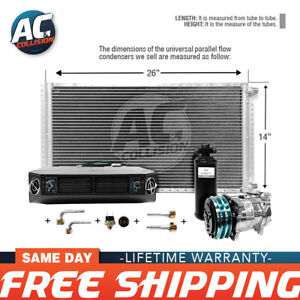 Ac Kit Universal Evaporator Underdash Unit Compressor And Condenser 14 X 26