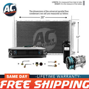 Ac Kit Universal Evaporator Underdash Unit Compressor And Condenser 12 X 20