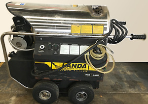 Used Landa Phws5 Electric diesel 5gpm 3000psi Hot Water Pressure Washer
