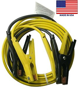 Deka 00160 Heavy Duty 12 Ft 8 Gauge Booster Emergency Battery Jumper Cable Usa