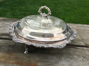International Silver Covered Casserole Dish 1 5 Quart Pyrex Bowl Countess 6262