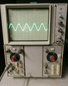 Tektronix Oscilloscope 5a22n Differential Amplifier With High low Pass Filter