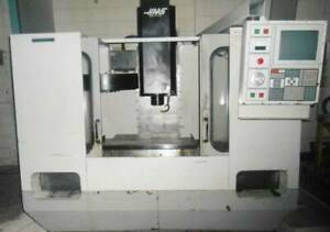 Haas Vf 0 Cnc 3 axis Vertical Machining Center In Great Running Condition