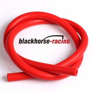 10 Feet Id 1 4 6mm Silicone Vacuum Hose Tube High Performance Red