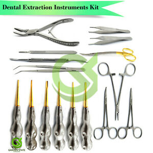 Special Veterinary Dental Extraction Instruments Kit For Student Professional
