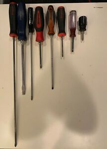 Lot 232 Snap On Screwdriver Lot Matco And Craftsman