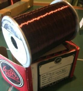 Wilbur B Driver Co Manganin 34 Resistance Enameled Wire 7 80 Ohms Per Foot