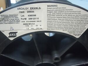 33lbs Esab Arcaloy Er308lsi1 16 Stainless Steel Welding Wire