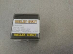 110 Melles Griot 03bsl045 25 4mm Non polarizing Cube Beam Splitter