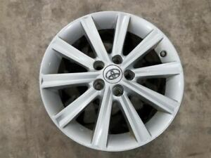 2012 14 Toyota Camry 17x7 Alloy Wheel 10 Straight Spoke Silver Grade B