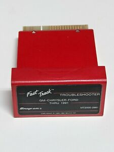 Snap On Mt2500 2991 Gm ford chrysler Thru 1991 Troubleshooting Cartridge