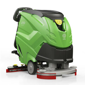 Ipc Eagle Ct51xp55r 21 Autoscrubber Traction Drive With 145 Ah Batteries