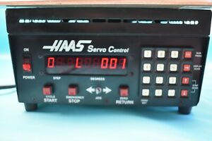 Used Haas Srt Rotary Table 17 Pin With Servo Controller