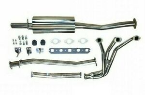 Complete Exhaust System Stainless W Header Muffler Hardware Mgb Gex130hdss Do