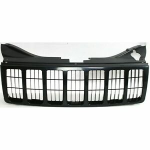 New Black Paintable Grille For 2005 2007 Grand Cherokee Ch1200306 Ships Today