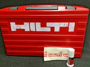 Hilti Case For Te 75 tool Case Only Preowned Free Grease Fast Shipping