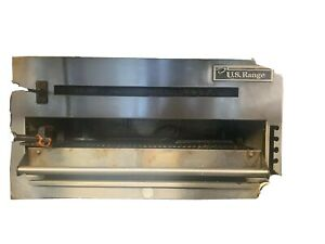 u s Range Hd Commercial 48 Lp Gas Wall Mount Cheese Melter Salamander