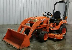 Kubota Bx2350 4x4 Tractor With Loader 60 Mower