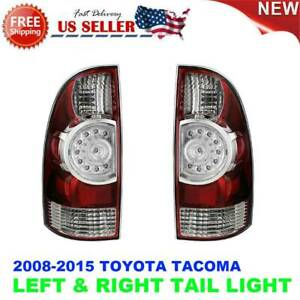 Tail Lamp Led Right Left Pair Set For Toyota Tacoma 2009 2015