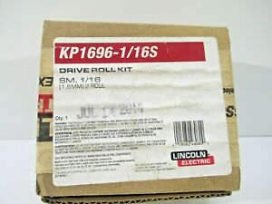 Lincoln Cored Drive Roll Wire Guide Kit Kp1696 1 16c Cable Welding New