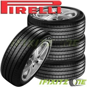 4 Pirelli Cinturato P7 P205 55r16 91v Uhp Ultra High Performance Traction Tire