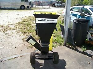 Stanley Ch 5 Commercial Wood Chipper shredder