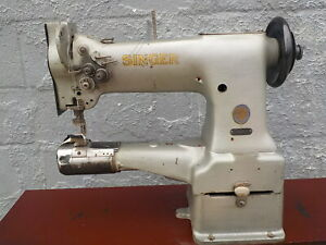 Industrial Sewing Machine Model Singer 154w101 Double Ndl cylinder Leather
