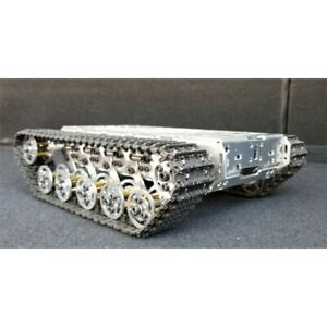 Rc Tank Chassis Metal Tracked Robot Smart Wifi Robot Car Shock Absorption Tzt