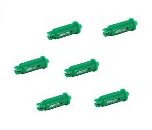Pack Of 6 Teejet Air Induction Flat Spray Tips Green 110 Polymer Visiflo