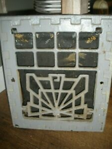 Heat Air Grate Wall Register 13 X11 Wall Opening Vintage Works Art Deco