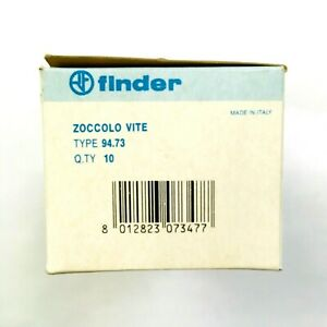 94 73 Finder Relay Socket 11 Pin Din For 55 33 Relays box Of 10