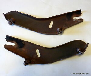 1967 Pontiac Rear Bumper Bracket Set Catalina Bonneville Grand Prix Executive 67
