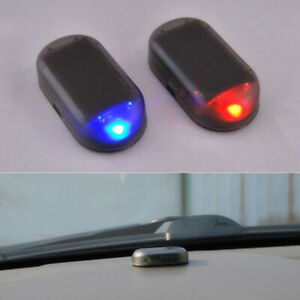 Fake Solar Auto Car Alarm Light Led Warn Security System Theft Flash Accessories Fits 2006 Mazda 3