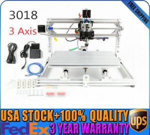 Diy Cnc Router 3018 pro Wood Engraver Pcb Milling Machine With Gbrl Control
