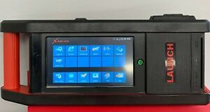 Launch X 431 Gds Automotive Diagnostic Tool Scan Tool W Case Adapters