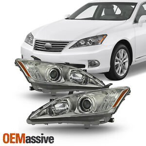Fits 2010 2012 Lexus Es350 Hid afs Style Projector Headlights Pair Replacement