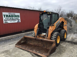 2014 Case Sv300 Skid Steer Loader W Cab 2 Speed Very Clean