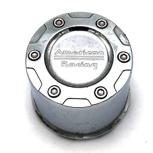 American Racing Chrome Wheel Center Hub Cap For Ax1084 Crater 5x135 6x135 Ford