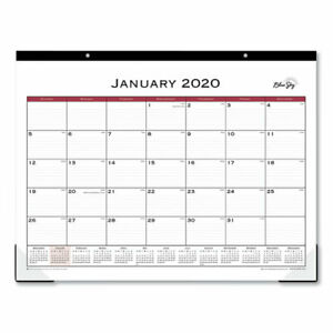 Classic Red Desk Pad 22 X 17 2020 Pack Of 10