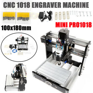 3 Axis Cnc Router 1018 Mini Engraving Machine Milling Engraver Pcb Metal Diy Us