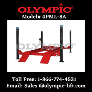 Olympic 8 000 Lb Car Storage Stacking Lift Commercial Grade 5 Year Warranty