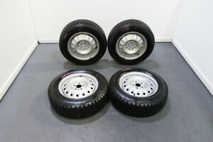 Great Condition Set Of Espia E7 195 65r15 Winter Tires In 15 Inch Steelies 5x100