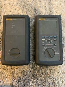 Fluke Dsp 2000 Cable Analyzer Dsp 2000sr Smart Remote With Accessories Case
