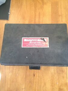 815 Snap On Svt 262 Cooling System Tester Free Shipping