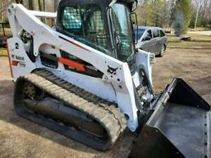 2017 Bobcat T770 Track Loader Heat ac High Flow Two Speed 92hp Low Hours