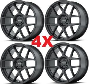 20 Black Wheels Rims American Racing
